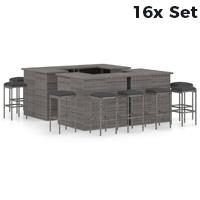 16X Outdoor Bar Sets