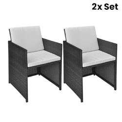 2X Garden Chairs