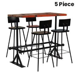 5 Piece Bar Set