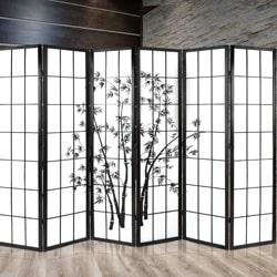 6-Panel Room Divider