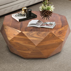 Acacia Wood Coffee Table