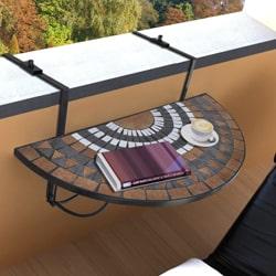 hanging balcony table
