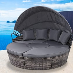 Outdoor Bed with Canopy